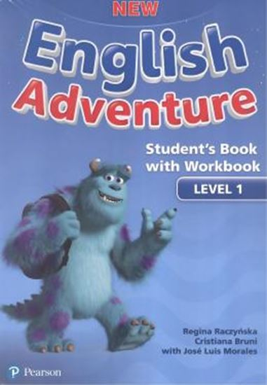 Picture of NEW ENGLISH ADVENTURE SB PACK LEVEL 1